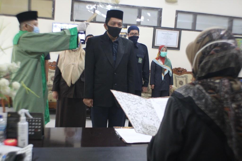 Pelantikan JSP Ahmad Faruq Setiawan, SH.