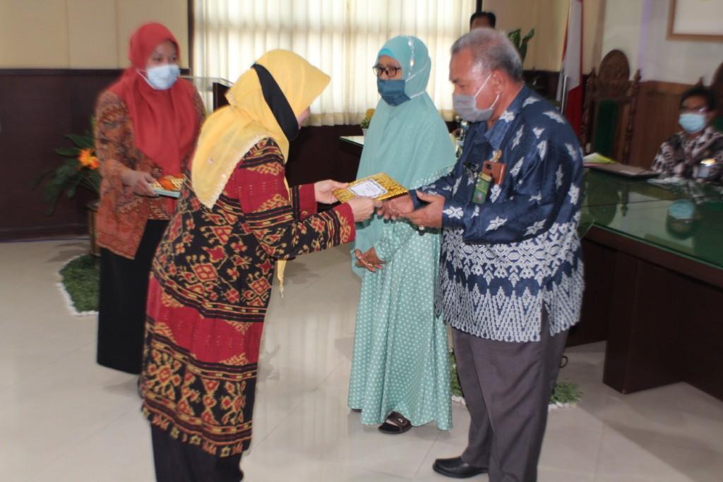 Pelepasan Hakim Puang Drs. H. Rahmani, SH., MH.